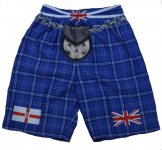 Northern Ireland Tartan Kilt Shorts - Small