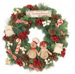 Gingerbread Large Wreath